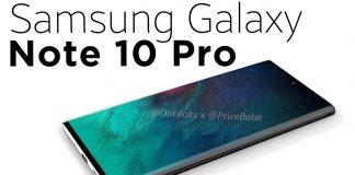 Video cu Galaxy Note 10 Pro