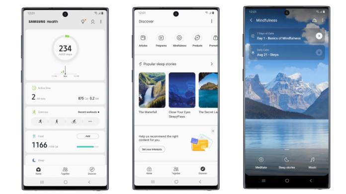 Gestionati-va stresul cu Samsung Health disponibil acum in mai multe limbi