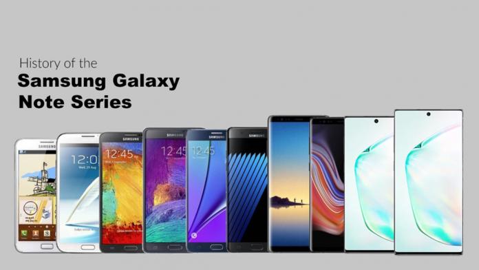 Istoria extraordinara a seriei Galaxy Note