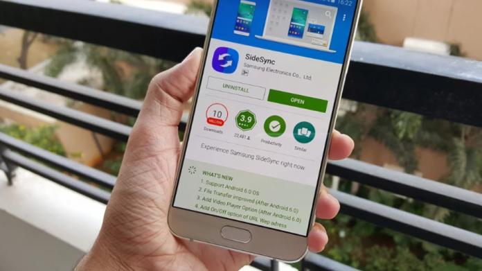 Aplicația SideSync se oprește oficial, este înlocuită de Samsung Flow