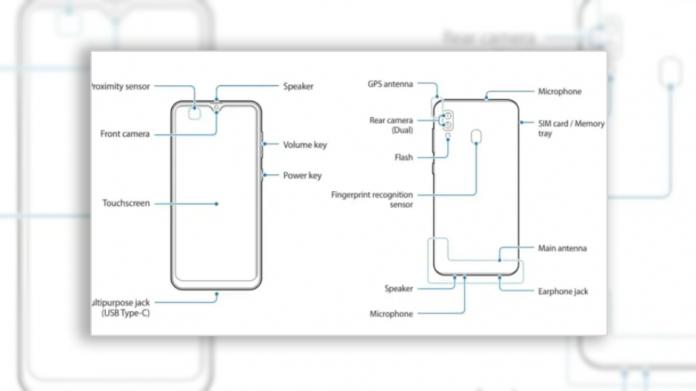 Samsung Galaxy M10s cu display Infinity-V și dual-camera