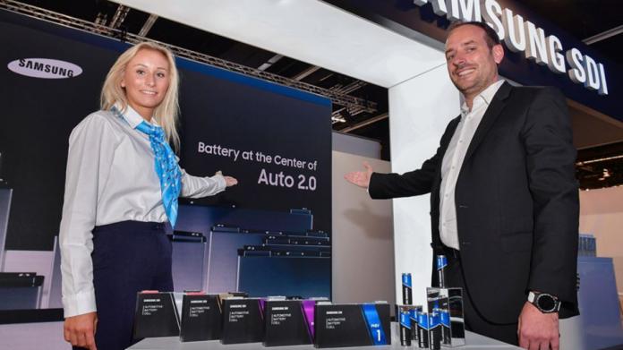 Samsung SDI va prezenta baterii EV inovatoare la Frankfurt