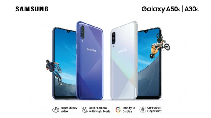 Samsung a lansat pe Galaxy A50s și Galaxy A30s în India