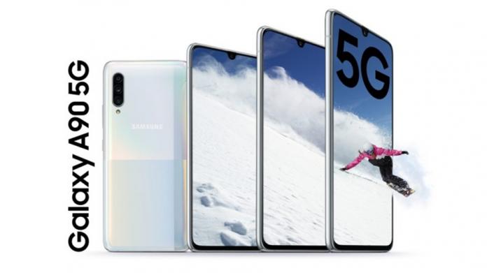 Samsung a lansat un puternic Galaxy A90 5G pentru Era Live