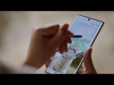 Samsung Galaxy Note 10: Noul S Pen este acum un instrument puternic