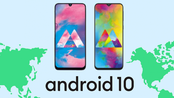 Galaxy M20 și M30 vor primi în curând sistemul de operare Android 10