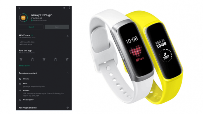 Samsung Galaxy Fit actualizat pentru noi fețe de ceas