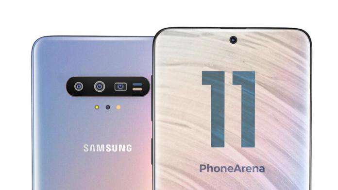 Samsung Galaxy S11 va avea aproape sigur o gaură centrală în ecran