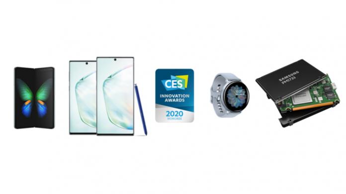 Samsung câștigă 46 de premii la CES 2020 pentru design și inginerie