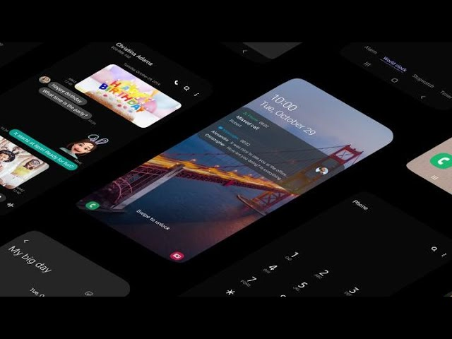 One UI 2.0 cu noile funcții într-un videoclip Samsung
