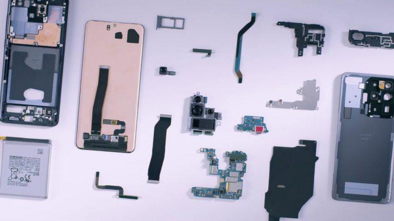 O călătorie în interiorul lui Samsung Galaxy S20 Ultra