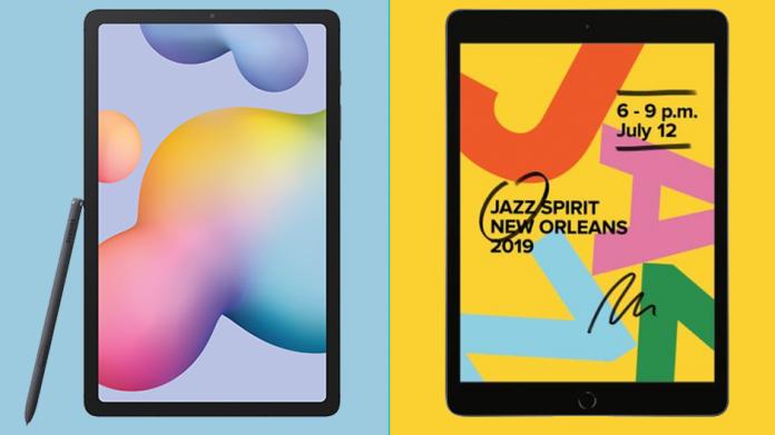 Comparatie Galaxy Tab S6 Lite vs iPad 10 2