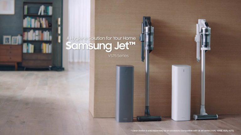 Elegant și puternic pentru curățenie și igienă, aspiratorul Samsung Jet