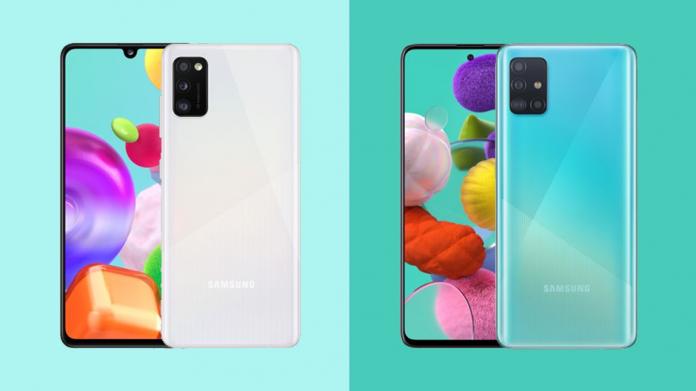 Comparatie Samsung Galaxy A41 vs Galaxy A51