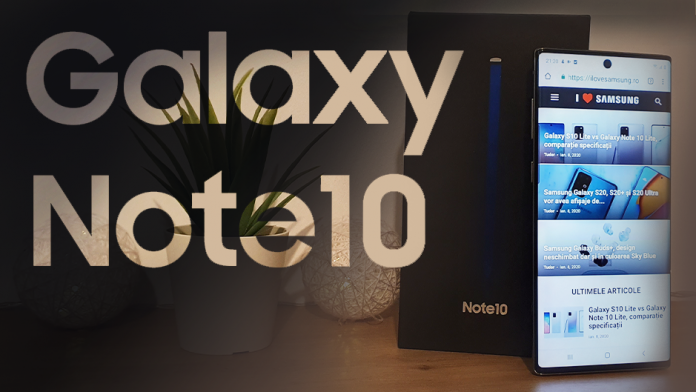 Galaxy Note 10 – Pret Pareri si Specificatii