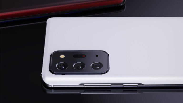 Samsung Galaxy S30 Ultra cu o cameră sub afișaj, concept video