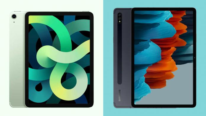 Apple iPad Air 4 vs Samsung Galaxy Tab S7