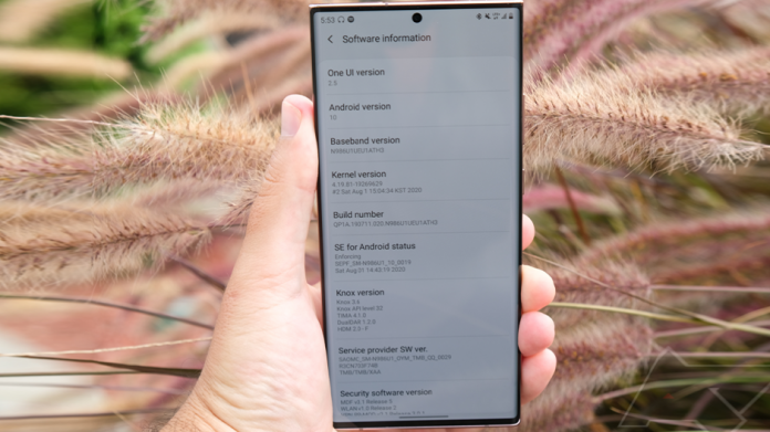 Actualizarea One UI 30 pentru Galaxy Note 20 lansata la nivel global