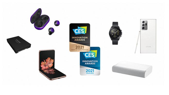 CES Innovatoon Awards 2021 44 de premii pentru Samsung