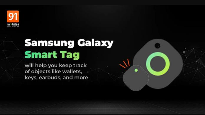 Designul Samsung Galaxy Smart Tag identificat in aplicatia SmartThings