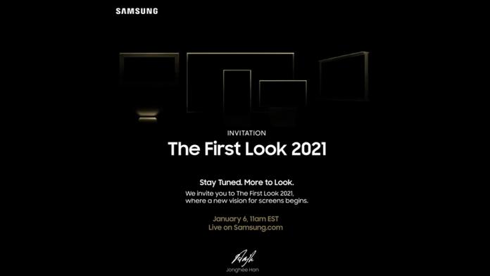 Samsung va prezenta ecranul viitorului la First Look 2021