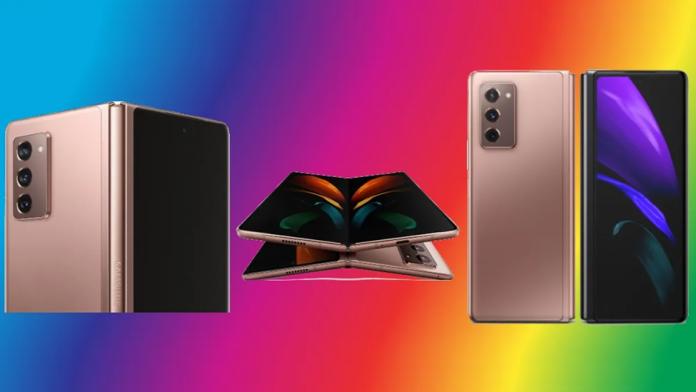 Tableta triplu pliabilă si telefon Samsung cu afisaj transparent in 2021