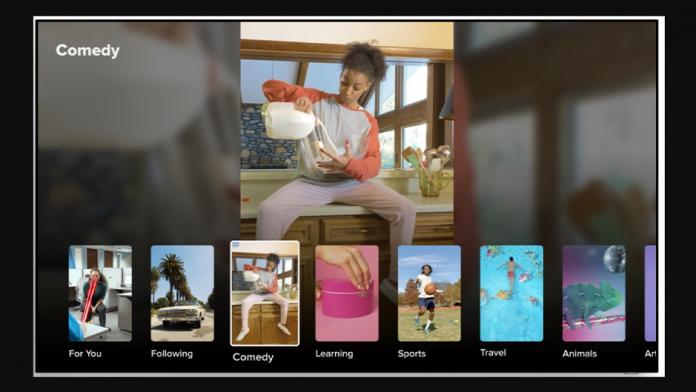 TikTok pe Samsung Smart TV debutează in Marea Britanie