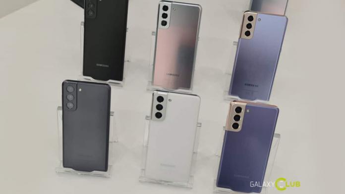 Actualizari la seria Samsung Galaxy S21 cat de des si cat timp