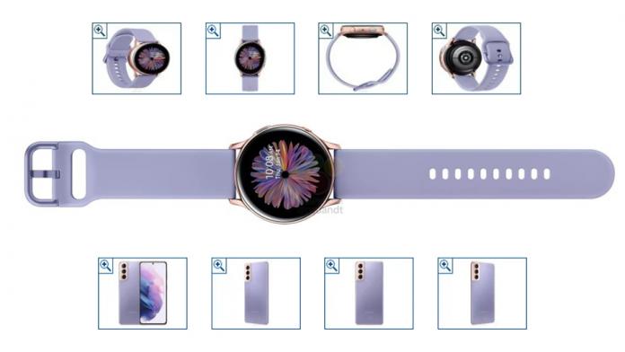 Galaxy Watch Active 2 noua culoare se va potrivi cu seria Galaxy S21
