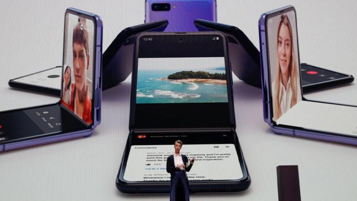 Premiul Nikkei 2020 pentru Samsung Galaxy Z Flip