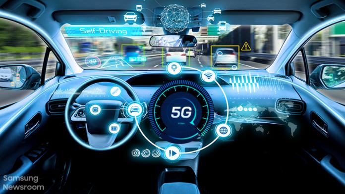 Samsung 5G mmWave TCU aduce noi experiente in vehiculul viitorului