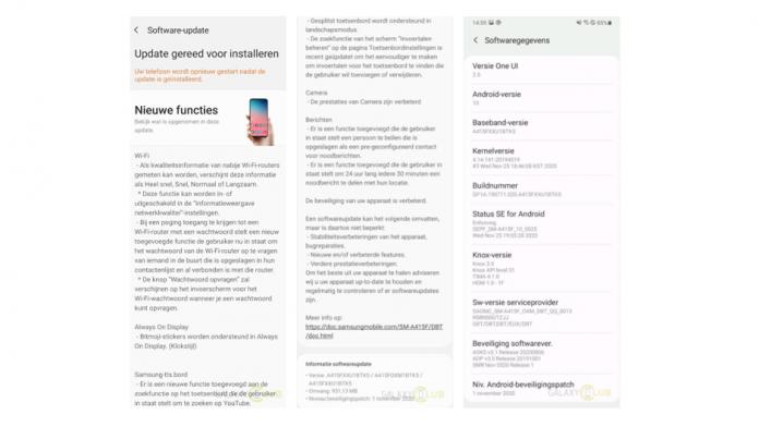 Samsung Galaxy A41 primeste actualizarea la One UI 2 5