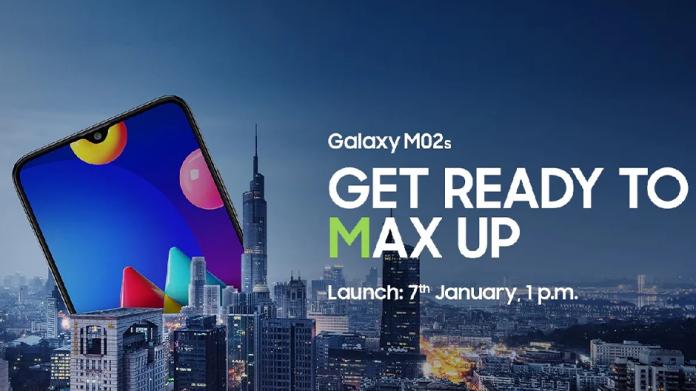 Samsung Galaxy M02s va fi lansat pe 7 ianuarie pretul si specificatiile