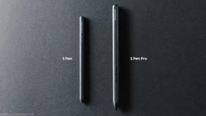 Samsung S Pen Pro va fi lansat pentru Galaxy S21 Ultra in acest an