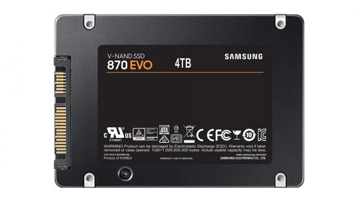 Samsung SSD 870 Evo SSD uri SATA noi accesibile cu pana la 4TB
