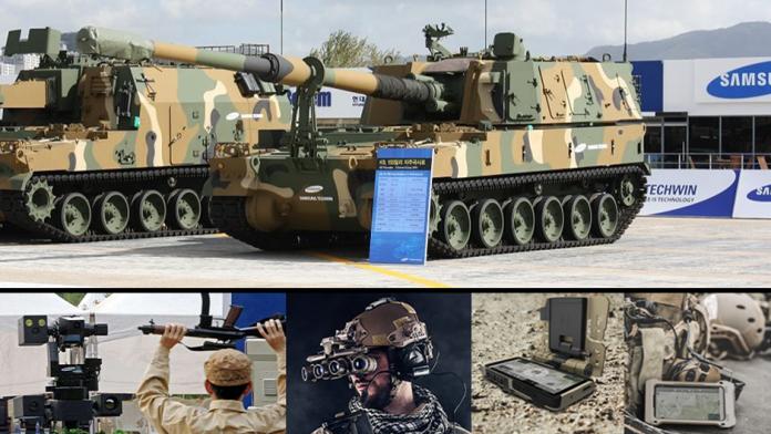 Samsung producator de tehnologie militara si de securitate