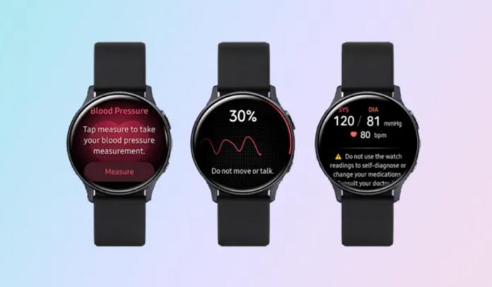 ECG si masurarea tensiunii arteriale pe Galaxy Watch 3 și in Romania