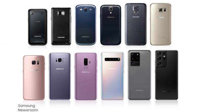 Evolutia camerelor foto pe seria emblematica Samsung Galaxy S