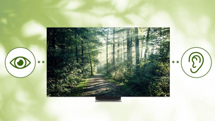 Extinderea accesibilitatii la televizoarele Samsung pentru persoanele cu deficiente