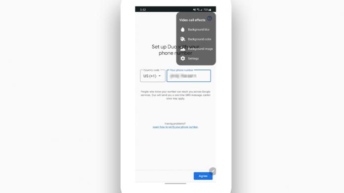 Fundaluri personalizate pentru apeluri video pe Teams Webex si Zoom cu Galaxy S21
