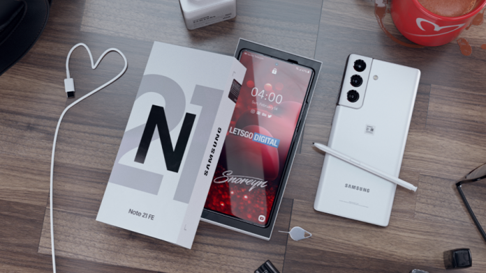 In 2021 Samsung poate lansa un Galaxy Note 21 Fan Edition