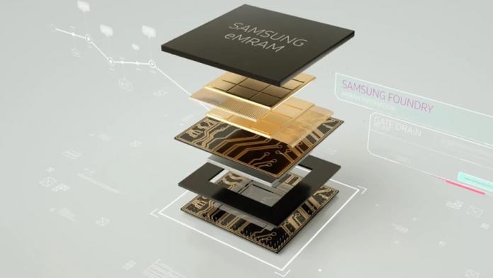 Memoria Samsung eMRAM foarte rapida poate ajunge in articole portabile