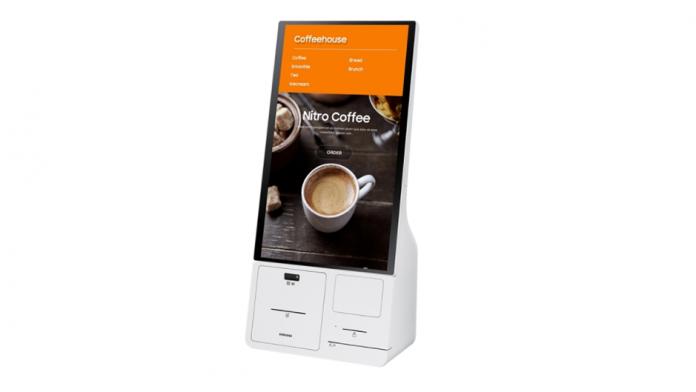 Samsung Kiosk un automat cu multe caracteristicile de securitate si igiena