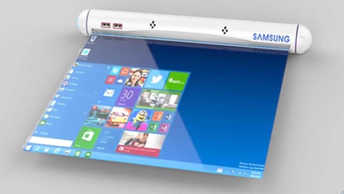 Samsung a confirmat ca lucreaza la afisaje glisabile si rulabile
