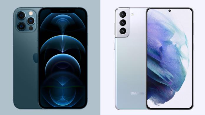 Apple iPhone 12 Pro vs Samsung Galaxy S21 Plus