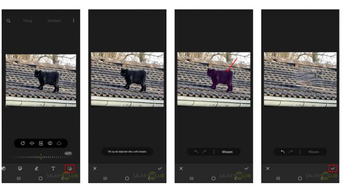 Cum sa stergeti lucrurile din fotografii pe telefoanele Galaxy cu Eraser for Object