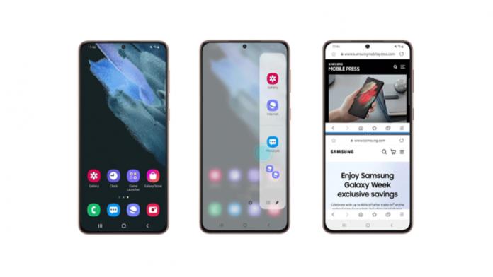 Samsung Internet 14 Beta aduce un Mod Flex mai bun si App Pair