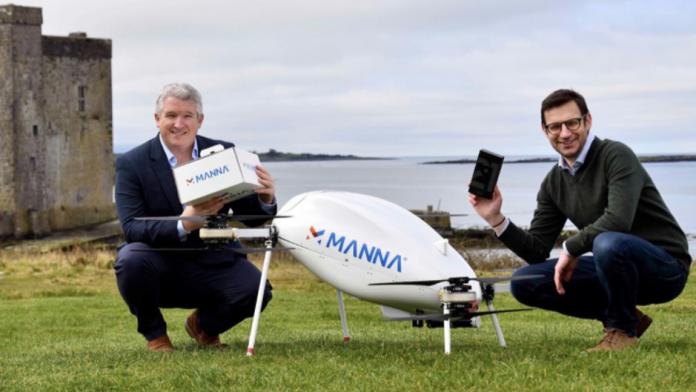 Telefoanele Samsung vor fi livrate cu dronele in Galway Irlanda