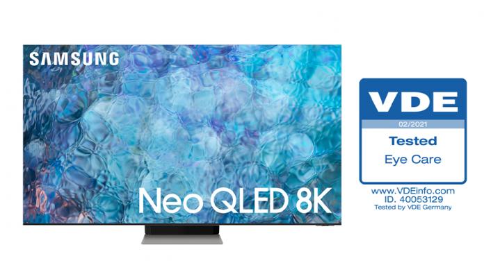 Televizoarele Samsung Neo QLED au primit certificarea Eye Care de la VDE