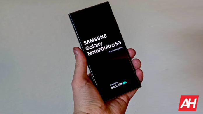 Actualizarea de securitate din aprilie 2021 ajunge la seria Galaxy Note 20